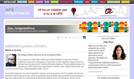 Blog Ara Cooperatives